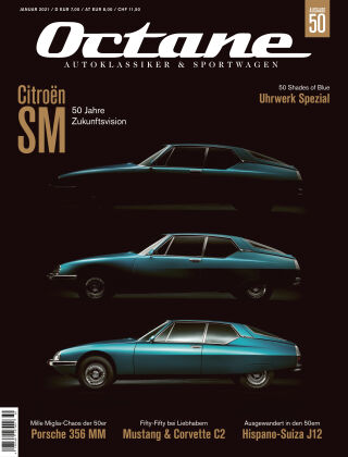 OCTANE - Das Magazin für Autoklassiker & Sportwagen Ausgabe 50
