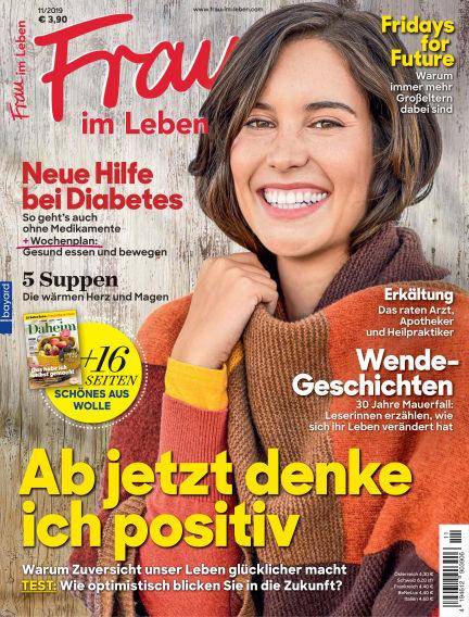Frau im Leben October 16, 2019 00:00