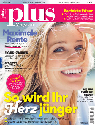 Plus Magazin 07/2019