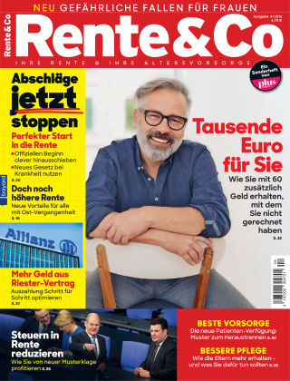 Rente & Co 04/2019