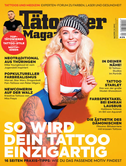 TätowierMagazin March 22, 2019 00:00
