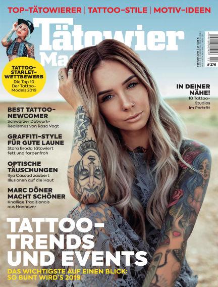 TätowierMagazin January 25, 2019 00:00