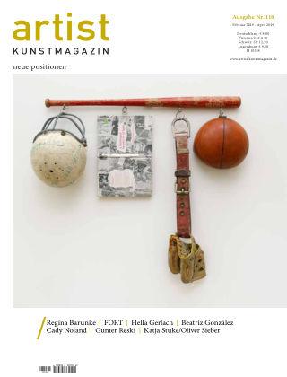 artist Kunstmagazin 118