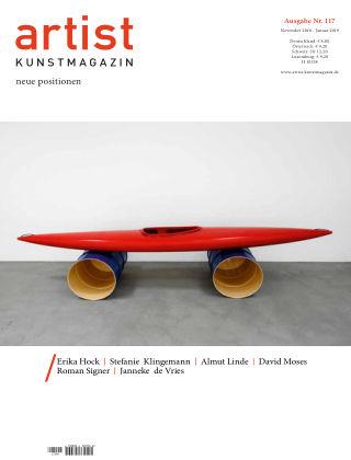 artist Kunstmagazin 117