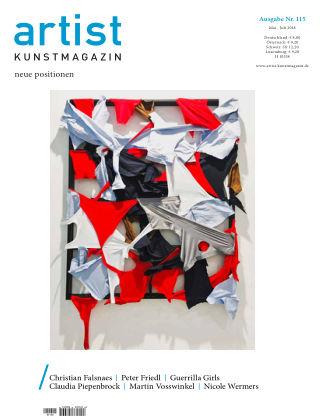 artist Kunstmagazin 115