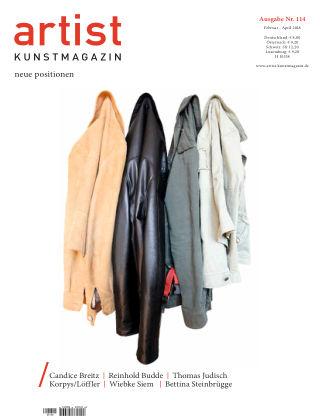 artist Kunstmagazin 114