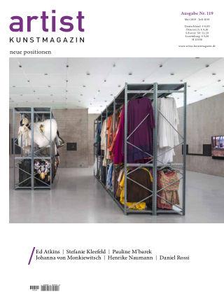 artist Kunstmagazin 119