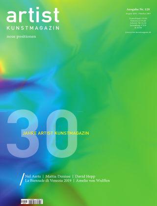 artist Kunstmagazin 120