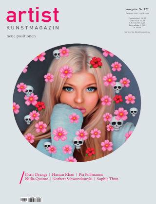 artist Kunstmagazin 122