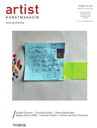 artist Kunstmagazin 124