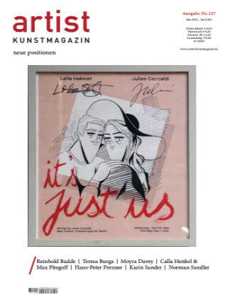 artist Kunstmagazin 127
