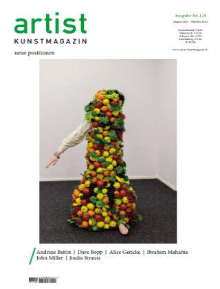 artist Kunstmagazin 128
