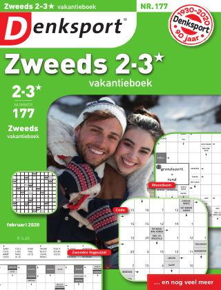 Denksport Zweeds 2-3* vakantieboek 177