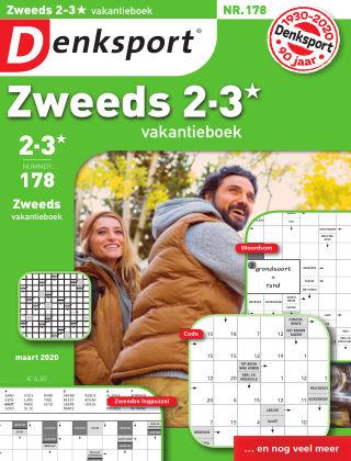 Denksport Zweeds 2-3* vakantieboek 178