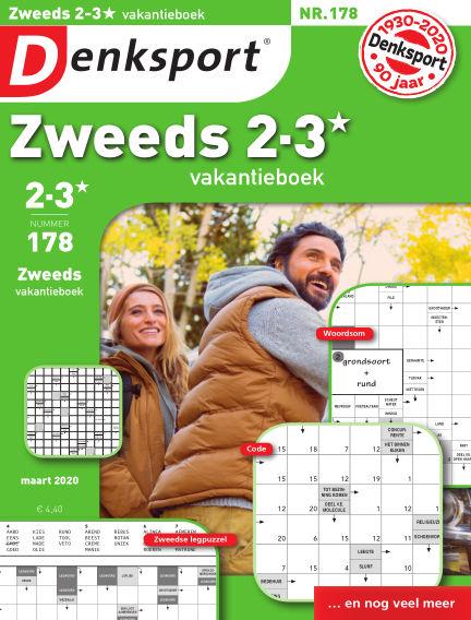 Denksport Zweeds 2-3* vakantieboek February 27, 2020 00:00