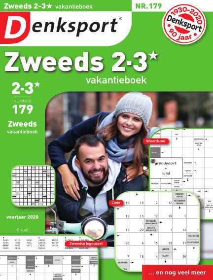 Denksport Zweeds 2-3* vakantieboek March 19, 2020 00:00