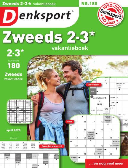 Denksport Zweeds 2-3* vakantieboek April 09, 2020 00:00