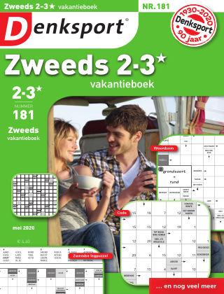 Denksport Zweeds 2-3* vakantieboek 181