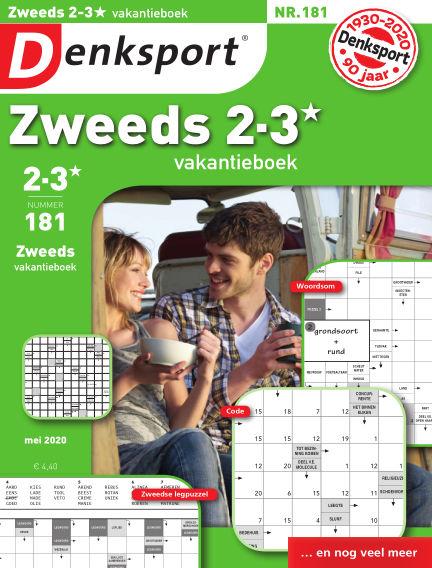 Denksport Zweeds 2-3* vakantieboek April 30, 2020 00:00