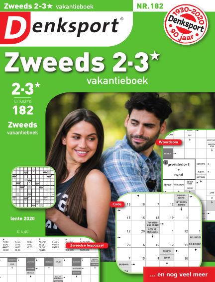 Denksport Zweeds 2-3* vakantieboek May 21, 2020 00:00