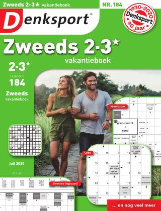 Denksport Zweeds 2-3* vakantieboek 184