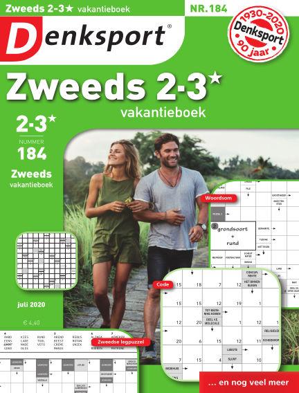 Denksport Zweeds 2-3* vakantieboek July 02, 2020 00:00