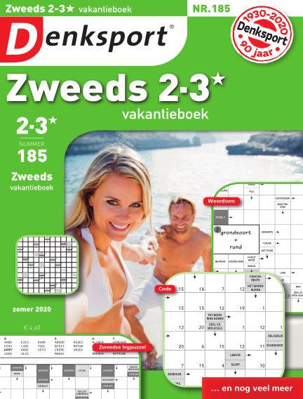 Denksport Zweeds 2-3* vakantieboek July 23, 2020 00:00