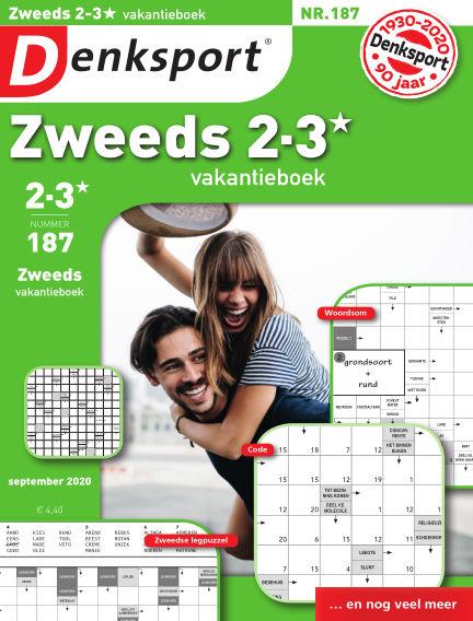 Denksport Zweeds 2-3* vakantieboek September 03, 2020 00:00