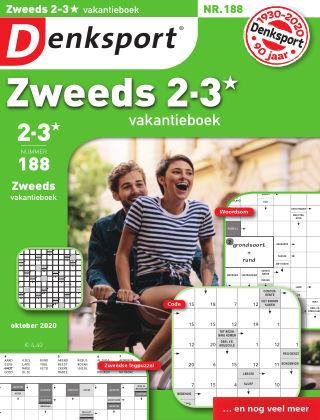 Denksport Zweeds 2-3* vakantieboek 188