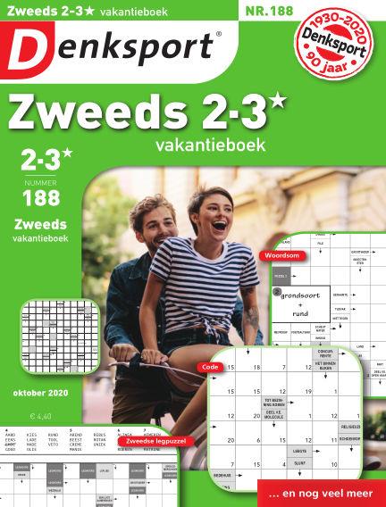 Denksport Zweeds 2-3* vakantieboek September 24, 2020 00:00