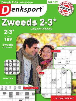 Denksport Zweeds 2-3* vakantieboek 189