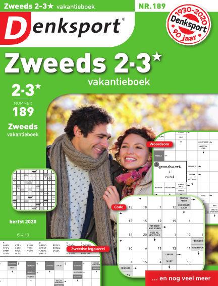 Denksport Zweeds 2-3* vakantieboek October 15, 2020 00:00