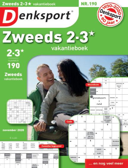 Denksport Zweeds 2-3* vakantieboek November 05, 2020 00:00