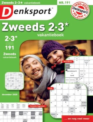 Denksport Zweeds 2-3* vakantieboek 191