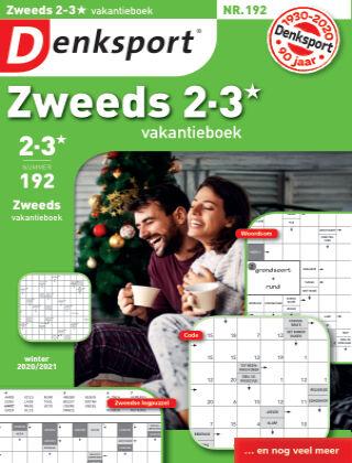 Denksport Zweeds 2-3* vakantieboek 192