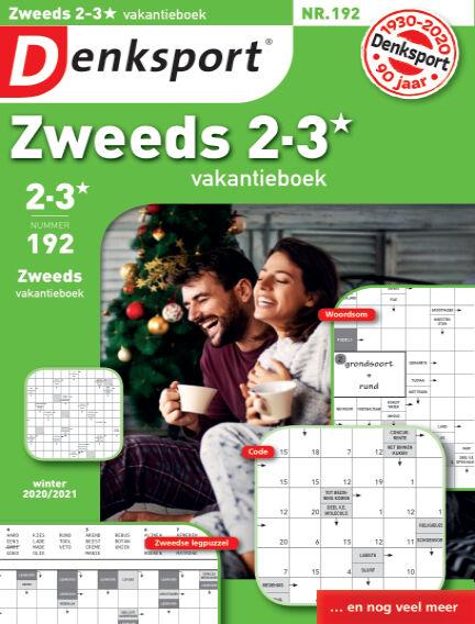 Denksport Zweeds 2-3* vakantieboek December 17, 2020 00:00