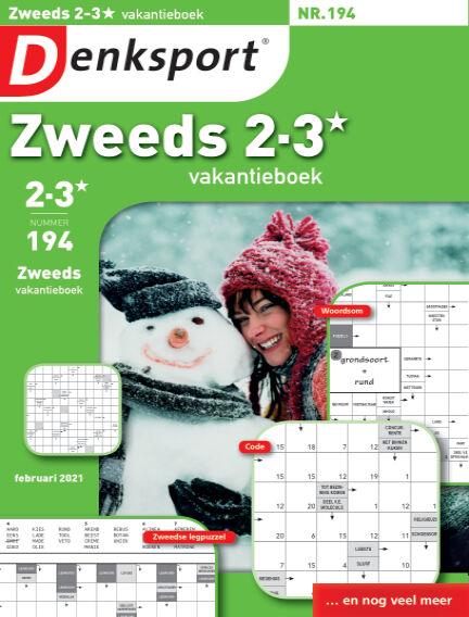 Denksport Zweeds 2-3* vakantieboek January 28, 2021 00:00