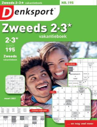 Denksport Zweeds 2-3* vakantieboek 195