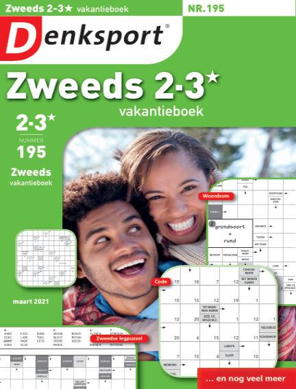 Denksport Zweeds 2-3* vakantieboek February 18, 2021 00:00