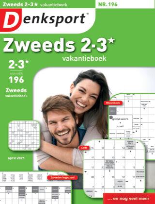 Denksport Zweeds 2-3* vakantieboek 196