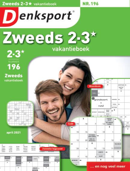 Denksport Zweeds 2-3* vakantieboek March 11, 2021 00:00