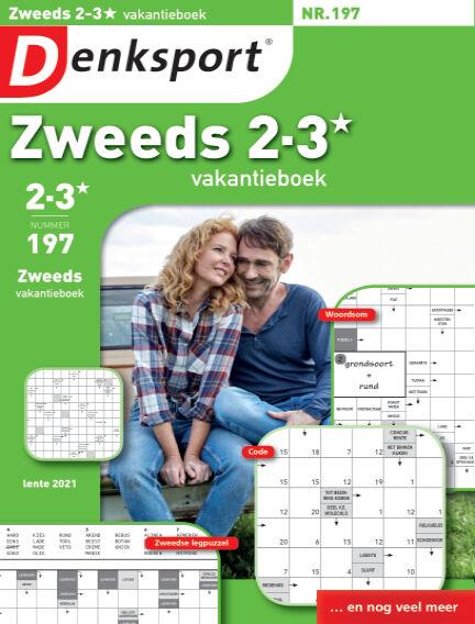 Denksport Zweeds 2-3* vakantieboek April 01, 2021 00:00