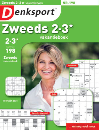 Denksport Zweeds 2-3* vakantieboek 198