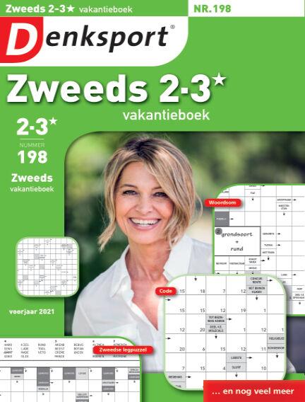 Denksport Zweeds 2-3* vakantieboek April 22, 2021 00:00