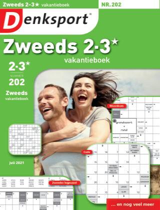 Denksport Zweeds 2-3* vakantieboek 202