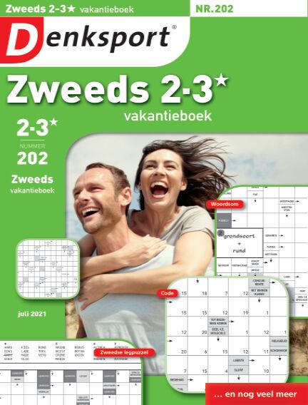Denksport Zweeds 2-3* vakantieboek July 15, 2021 00:00