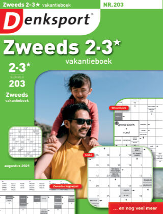 Denksport Zweeds 2-3* vakantieboek 203
