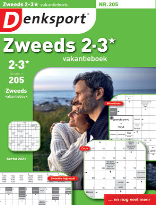 Denksport Zweeds 2-3* vakantieboek 205