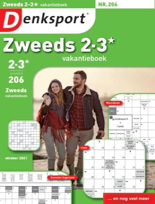 Denksport Zweeds 2-3* vakantieboek 206