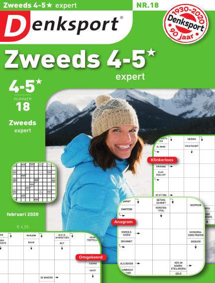 Denksport Zweeds 4-5* February 06, 2020 00:00